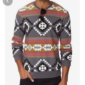 Forever 21 Men southwestern print sweater